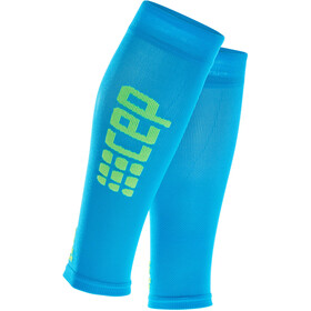 cep Pro+ Ultralight Mangas para pantorrillas Hombre, electric blue/green